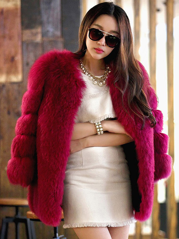 Làm đẹp Với Những Kiểu áo Khoác Lông Hàn Quốc Sang Trọng Aophaonu